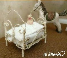 how to: wire bed for doll's doll