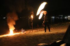 Fire dance, PEace resort samui
