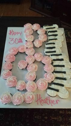 Musical Birthday Cake Cupcake Torte Designs Music