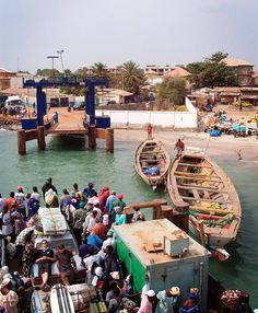 Banjul, The Gambia.  This is a must on your trip to The Gambia #thegambia