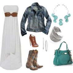 This is soo cute.  Idm.if I would be brave enough to wear the cowgirl boots though haha
