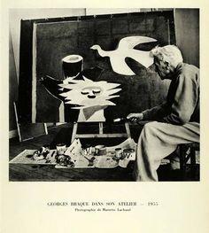 Cubism Painter Georges Braque Artist Studio