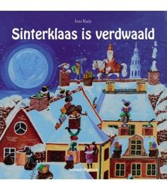 Sinterklaas is Verdwaald.....Sinterklaas is Lost...cute children's book!