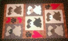 Puppy quilt i made