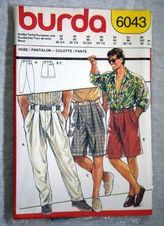 Vintage German Burda Mens Pants and by VintagePatternsPlus on Etsy, $5.00