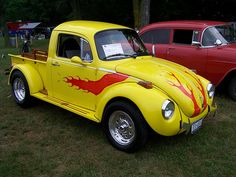 VW Beetle truck..Re-pin brought to you by agents of #Carinsurance at #HouseofInsurance in Eugene, Oregon
