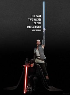 P a p e r M o o n - Droids Star Wars - Ideas of Droids Star Wars - two halves of the dark and the light. Star Wars Film, Rey Star Wars, Star Trek, Kylo Rey, Kylo Ren And Rey, Star Wars Love, Star Wars Fan Art, Pixar, Rian Johnson