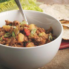 Apple Turkey Picadillo Recipe - EatingWell
