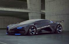 Lada concept Russia