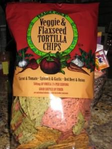 TJ Faves: Veggie & Flaxseed Tortilla Chips
