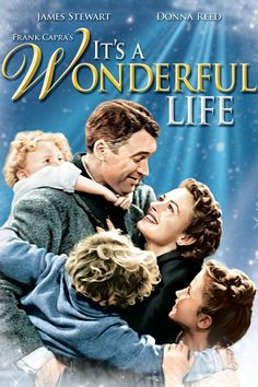 It's a Wonderful Life Jimmy Stewart, Donna Reed, Lionel Barrymore. A favorite Holiday movie that shows how one man can affect some many other people's lives. Wonderful Life Movie, Love Movie, Movie Tv, It's Wonderful, Movie List, Beautiful Life, Movie Shelf, Wonderful Picture, Old Movies