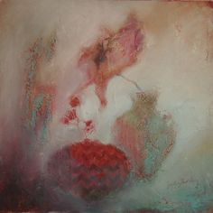 Red Flower...judy thorley