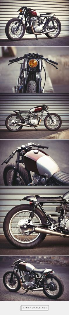 Low flyer: a cafe-styled XS650 from Clutch Customs of Paris. A nice bike and story- click to read it