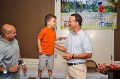 Peyton Manning at the 2015 Peyton Manning Golf Classic to benefit East Tennessee Children's Hospital and the PeyBack Foundation
