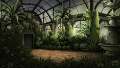 over the garden wall background art - Google Search