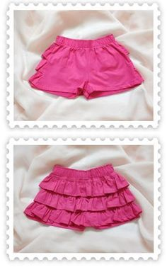 short niña - Buscar con Google Toddler Girl Dresses, Little Girl Dresses, Girls Dresses, Girls Blouse, Girls Pants, Short Niña, Frocks For Girls, Baby Girl Fashion, Skirt Fashion