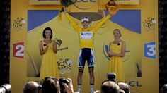 Tour de France 2013 - Daryl Impey (Orica Greenedge) became South Africas first ever rider in yellow when he  took over the GC lead from team mate Simon Gerrans on Stage 6