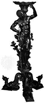 Carved boxwood gueridon by Andrea Brustolon, c. 1690–99 Italian Baroque, House Of Beauty, Carving, Wood, Tabletop, Venice, Education, Design, Decor