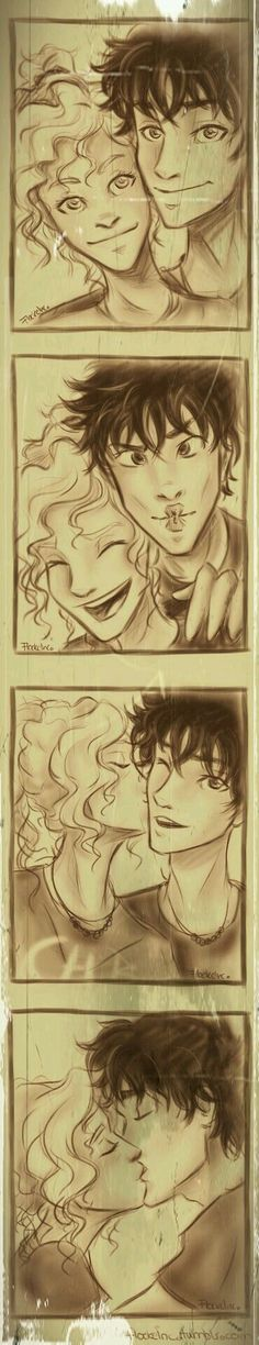 ''Annabeth Chase and Perseus Jackson''