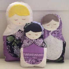 Back in stock today at SixthandDurian.etsy.com #etsy #sewing #handmade #etsyseller #forsale #babushkadoll #matryoshkadolls #matryoshkas #cute