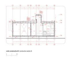 Corte Constructivo Prefab Modular Homes, Modular Housing, Architecture Portfolio, Architecture Details, Architecture Diagrams, Urban Analysis, Site Plans, Concept Diagram, Urban Planning