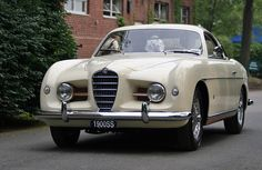 1953 Alfa Romeo 1900C SS Supergioiello Coupé by Ghia.