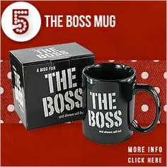 Boss Mug, Secret Santa Gifts, Funny Mugs, Working Area, Memorable Gifts, Presents, Tableware, Christmas, Gifts
