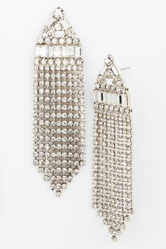 Fringed Drop Earrings by Nordstrom on @nordstrom_rack