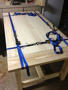 Another set of plans for farmhouse table