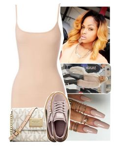 """1:35am"" by lamamig ❤ liked on Polyvore featuring MICHAEL Michael Kors and Puma"