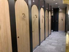 Toilet Partitions - Commercial Interior Bathroom Design Toilet Partition Design, Bathroom Partitions, Toilet, Interior, Commercial Toilet, Bathroom Interior Design, Commercial Interiors, Commercial Bathroom Designs, Bathroom Design
