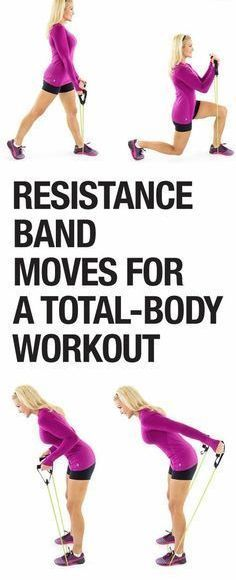 Band Full-Body Workout Get a toned in 2015 and try this total body workout!Get a toned in 2015 and try this total body workout! Lower Ab Workouts, Easy Workouts, Fitness Tips, Fitness Motivation, Health Fitness, Fitness Exercises, Yoga Musica, Mental Training, Resistance Band Exercises