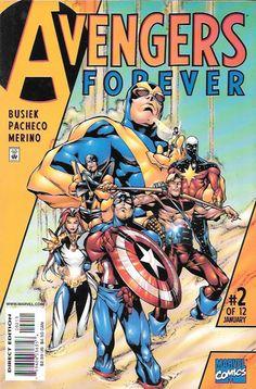 Avengers Forever # 2 Marvel Comics