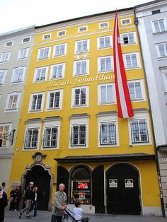 mozart's home, saltzburg, austria. I took this same picture. Its beautiful in real life