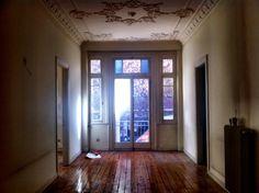Inside an empty apartment circa before Thessaloniki, Greece