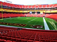 The Washington Redskins are offering up 800 seats that they've removed from FedEx due to the party deck that's currently under construction. Description from profootballzone.com. I searched for this on bing.com/images