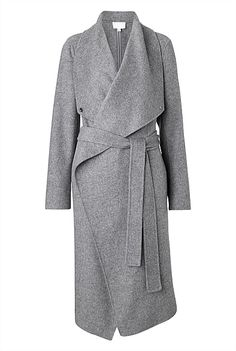Wrap Blanket Coat