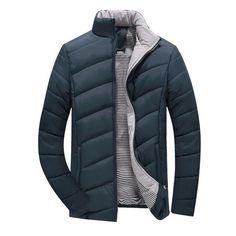 ASL Mens Windbreaker Casual Jacket Thick