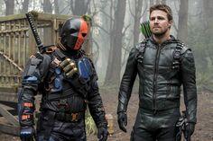Arrow temporada 6 Deathstroke películas DC
