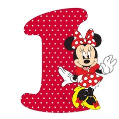 Mouse Alphabet I Minnie Mouse Stickers, Mickey E Minnie Mouse, Theme Mickey, Mickey Mouse Images, Mickey Mouse Cupcakes, Mickey Birthday, Mickey Cakes, Mouse Cake, Baby Mouse