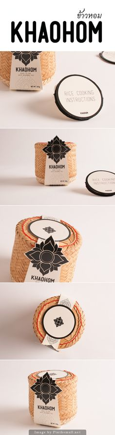 Khaohom: Sustainable Rice Packaging (Student Project) Designer: Warinporn Bussayajirapong Type Of Work: Student Project Country: Australia