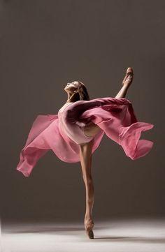 Awe-Inspiring dance pose.