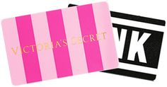 Victoria Secret Gift Card .... needing some new undergarments