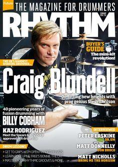 #Rhythm Magazine 251. Craig Blundell on hitting new heights with Steven Wilson.