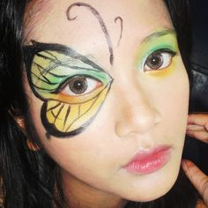 Eye Makeup Butterfly How To Do Butterfly Eye Makeup Eye Makeup Butterfly Makeup Green Butterfly Eyeshadow Tutorial 2517600 Weddbook. Halloween Party Costumes, Halloween Make Up, Halloween Themes, Halloween Crafts, Halloween Face Makeup, Haunted Halloween, Holiday Themes, Diy Costumes, Holiday Fun