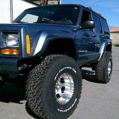 Jeep Cherokee Xj, Cherokee Sport, Cherokee Nation, Suv 4x4, Jeep 4x4, Jeep Truck, Jeep Xj Mods, Jeep Wagoneer, Truck Rims