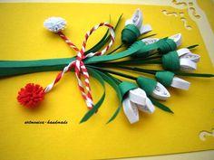 Atelier hirtie-quilling, felicitari -Monatibi. - Pagina 18 Quilling, Christmas Ornaments, Holiday Decor, Handmade, Home Decor, Atelier, Hand Made, Room Decor, Craft