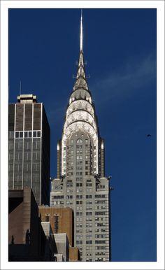 Chrysler Building, Classic Art Deco Architecture, New York City, New York