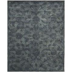 Safavieh Handmade Antiquities Grey Wool Rug - 14946452 - Overstock - Great Deals on Safavieh 3x5 - 4x6 Rugs - Mobile