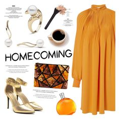 """""""Homecoming Style"""" by pearlparadise ❤ liked on Polyvore featuring TIBI, StyleNanda, Hermès, Homecoming, contestentry, pearljewelry and pearlparadise"""